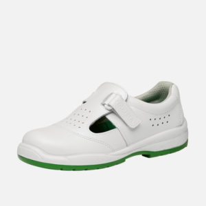 Safety shoes, SARA WHITE PERFORATED model